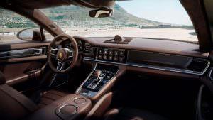 Салон Porsche Panamera Gran Turismo