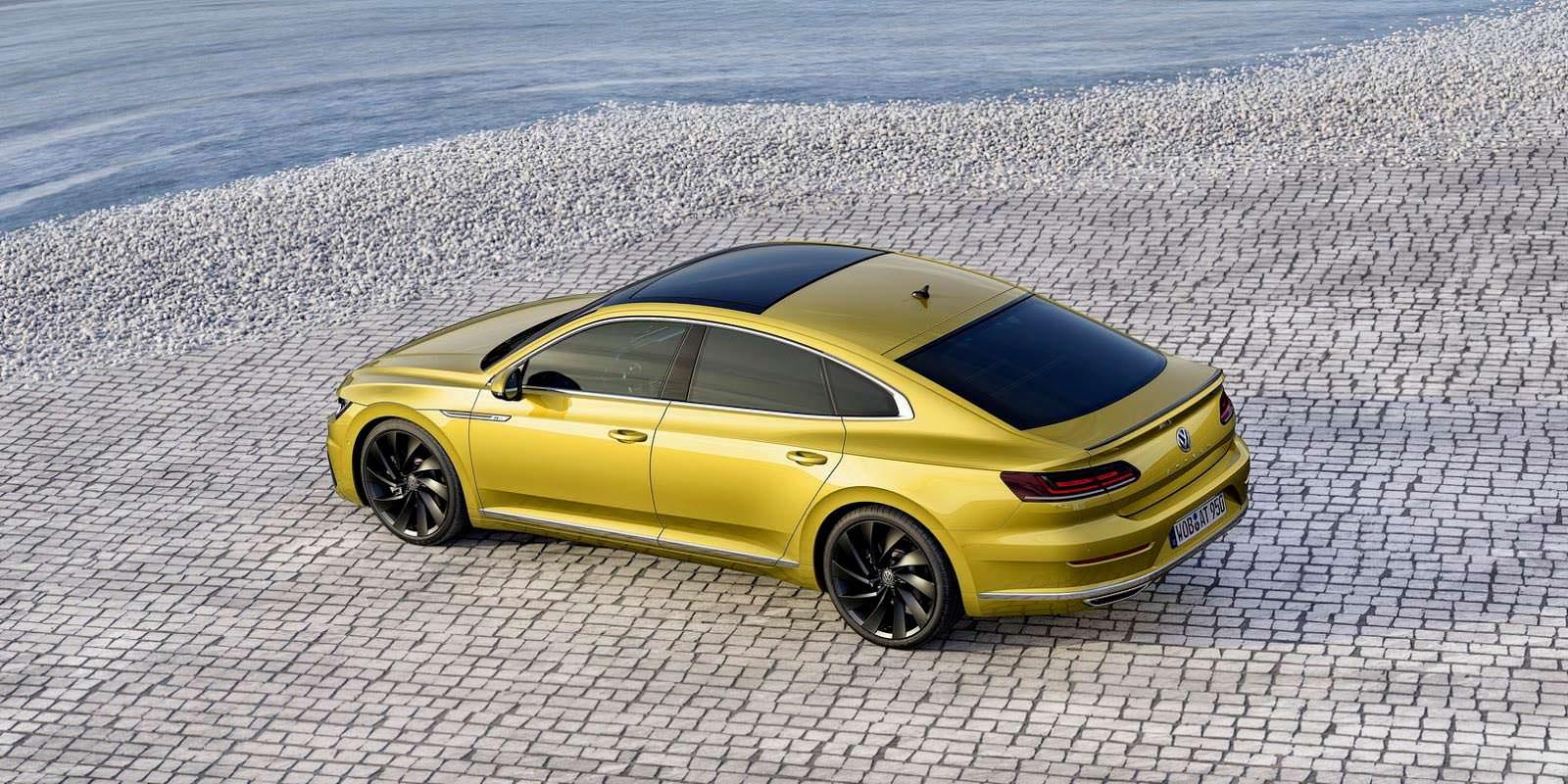 Купеобразный седан Volkswagen Arteon