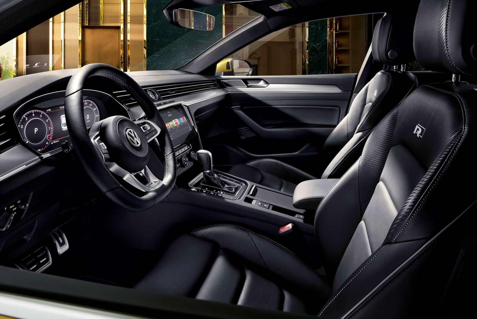 Шикарный салон VW Arteon