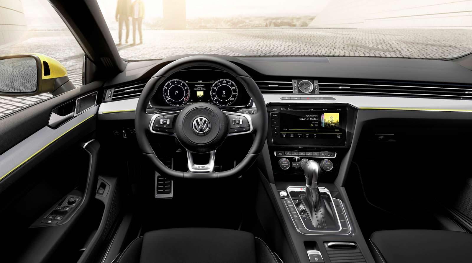 Интерьер Volkswagen Arteon