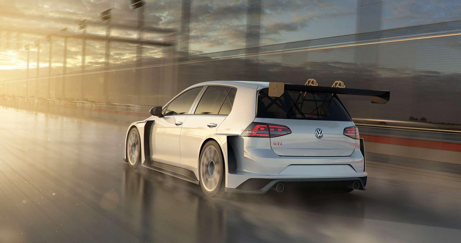 Новый Volkswagen Golf GTI TCR