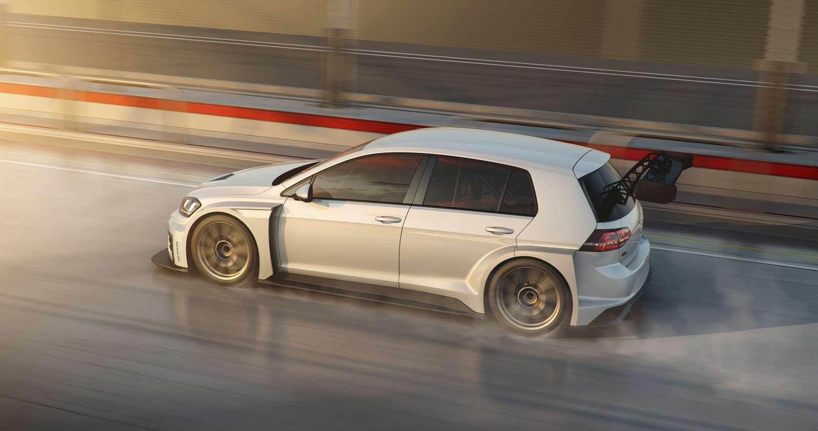Гоночный хэтчбек Volkswagen Golf GTI TCR