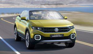 Прототип Volkswagen T-Cross Breeze