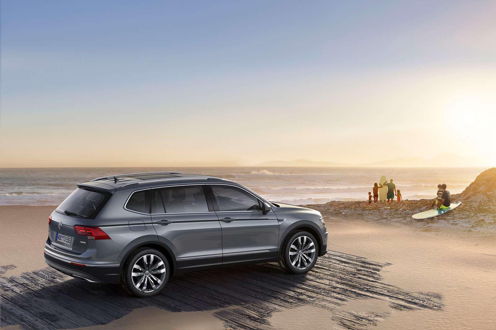 Новый Volkswagen Tiguan Allspace 2017