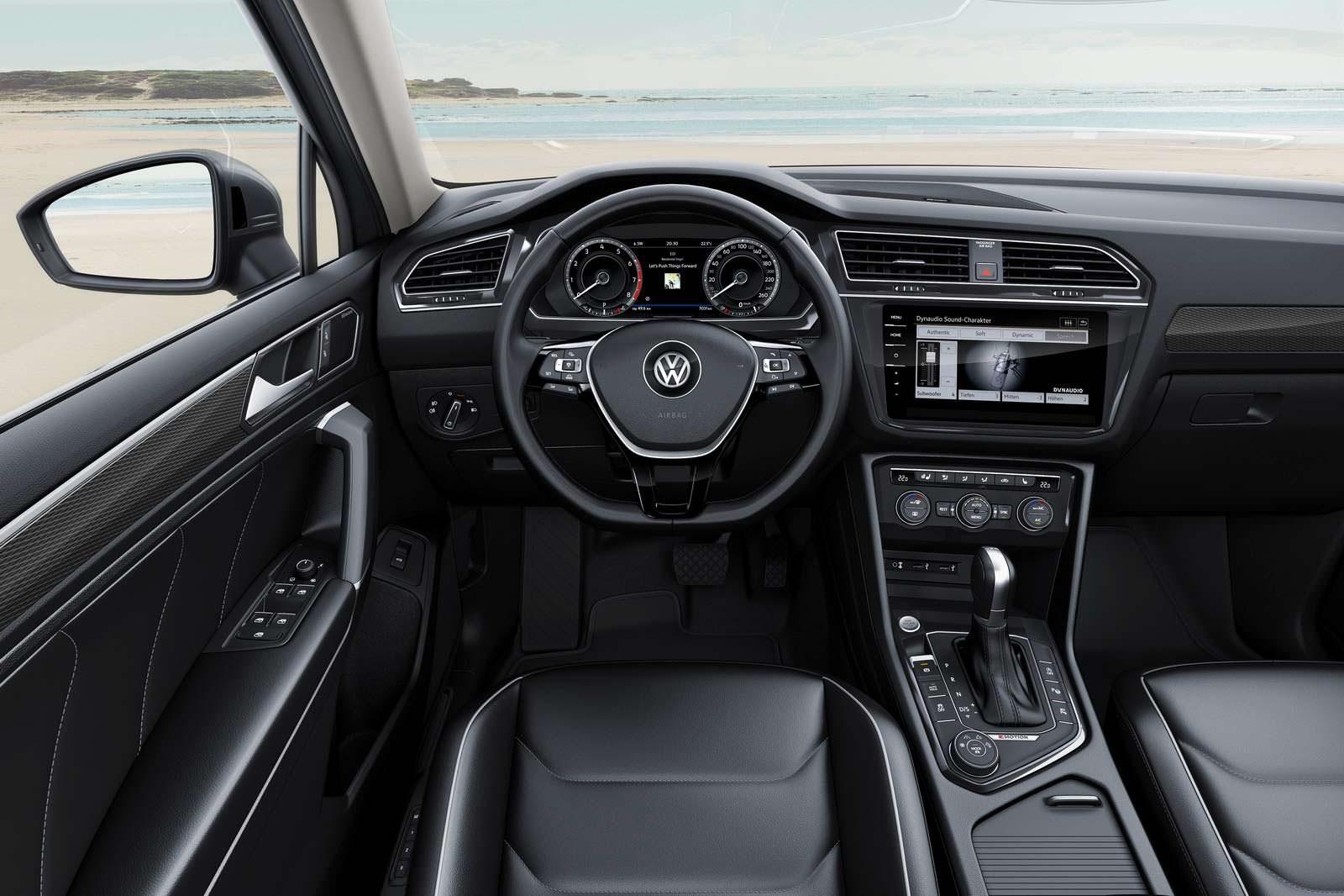 Салон Volkswagen Tiguan Allspace