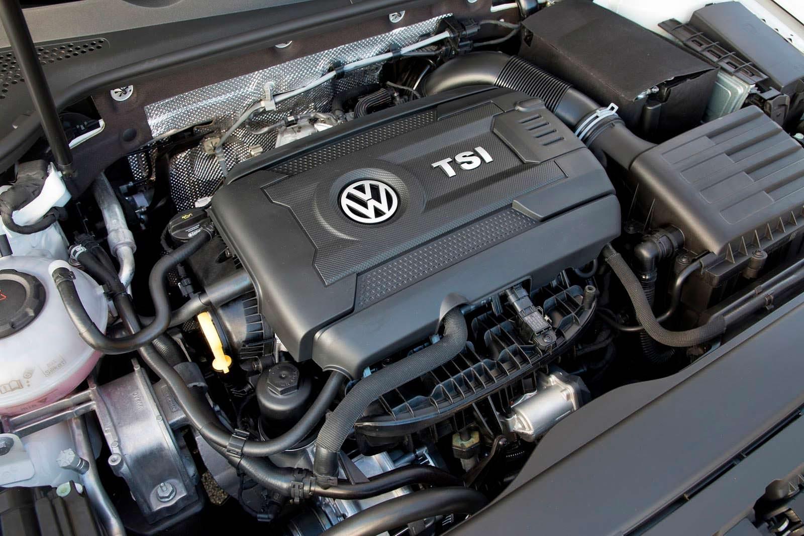 Фото | Двигатель 1.8 TSI под капотом Volkswagen Golf Alltrack