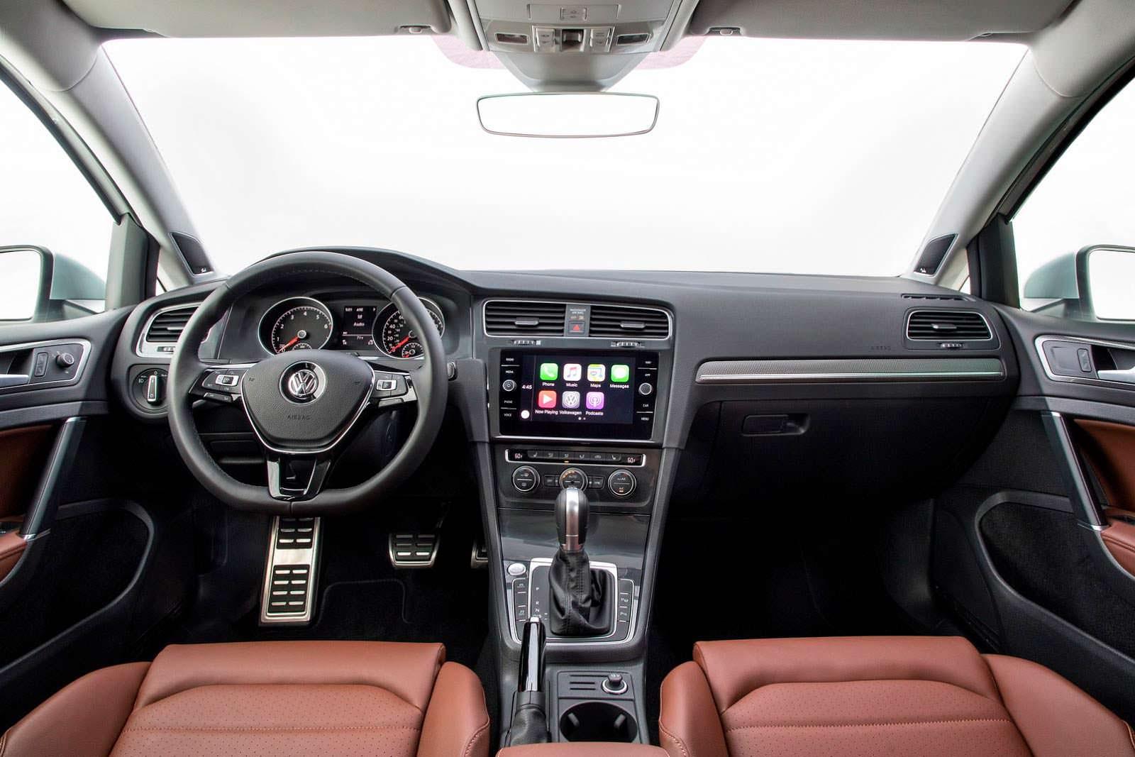 Фото | Мультимедийная система Volkswagen Golf Alltrack