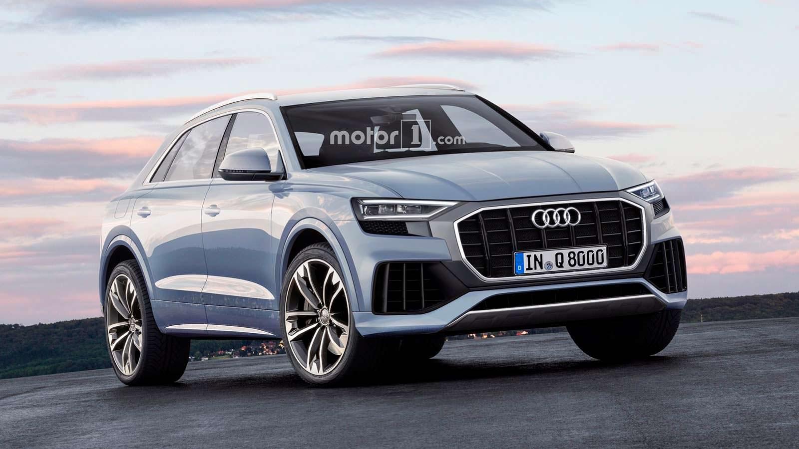 Серийная Audi Q8 по версии motor1.com