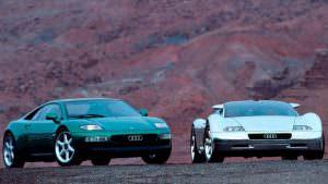 Фото Audi Quattro Spyder и Audi Avus Quattro