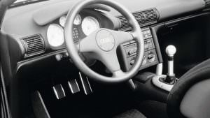 Фото   Салон Audi Quattro Spyder