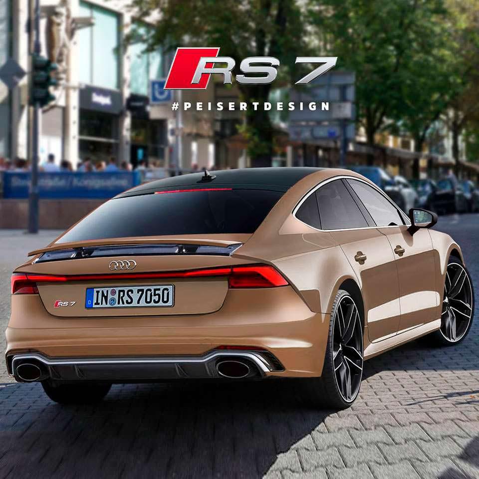 Неофициальный дизайн Audi RS7 от PeisertDesign