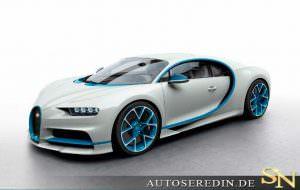 Фото | Bugatti Chiron у дилера AutoSeredin