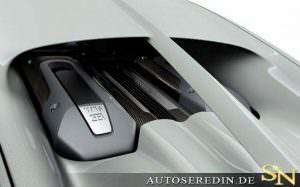 Фото | Моторній отсек Bugatti Chiron