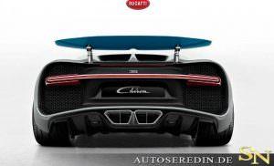 Фото | Выхлопные трубы Bugatti Chiron