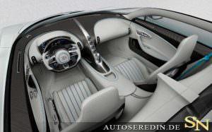 Фото | Интерьер Bugatti Chiron