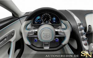 Фото | Руль Bugatti Chiron