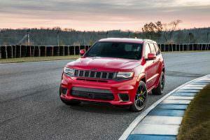 Фото | Jeep Grand Cherokee Trackhawk: самый мощный внедорожник