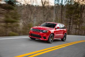 Фото | Jeep Grand Cherokee Trackhawk на треке