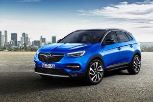 Компактный кроссовер Opel Grandland X 2018