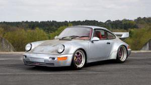 Фото   Грязная Porsche 911 RSR 1993 года с пробегом 10 км
