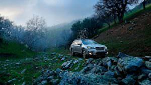 Фото   Японский универсал Subaru Outback 2018
