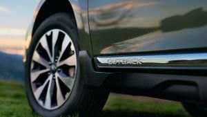 Фото   Защита боков кузова Subaru Outback