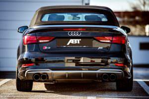 Фото Audi S3 Cabrio черного цвета от ABT