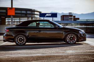 Фото   Чёрный кабриолет Audi S3 от ABT Sportsline