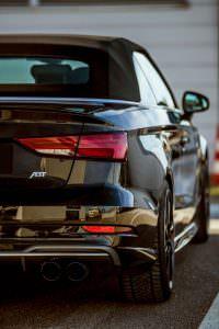 Фото   Задние фонари Audi S3 Cabrio 2017
