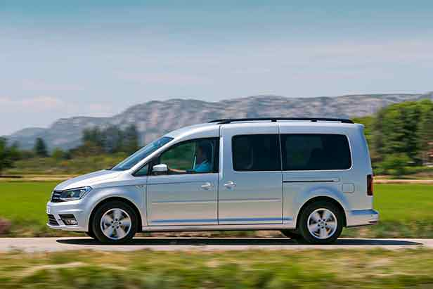 Фото   Volkswagen Caddy Maxi с длинной колесной базой