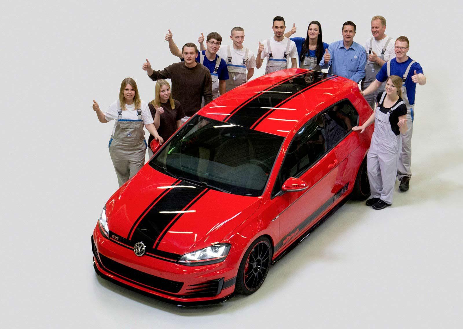 Концепт Volkswagen Golf GTI Wolfsburg Edition 2014 года