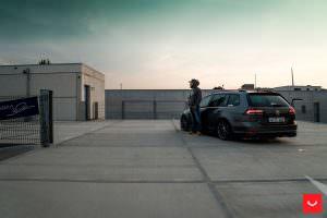 Фото | Новый универсал VW Golf R Variant 2017 года