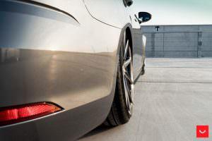 Графитовые диски Воссен на VW Golf R Variant