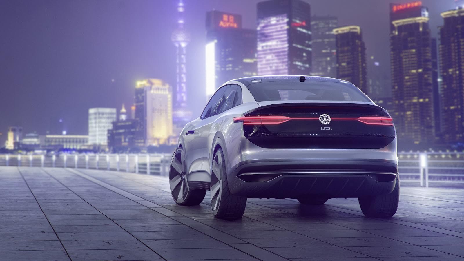 Volkswagen I.D. Crozz. Шанхайский автосалон 2017 года