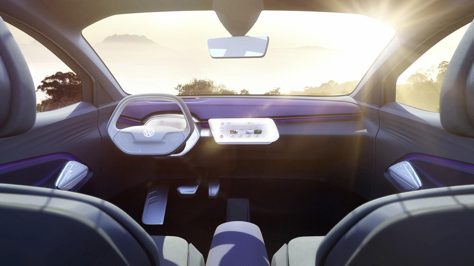 Фото салона Volkswagen I.D. Crozz Concept