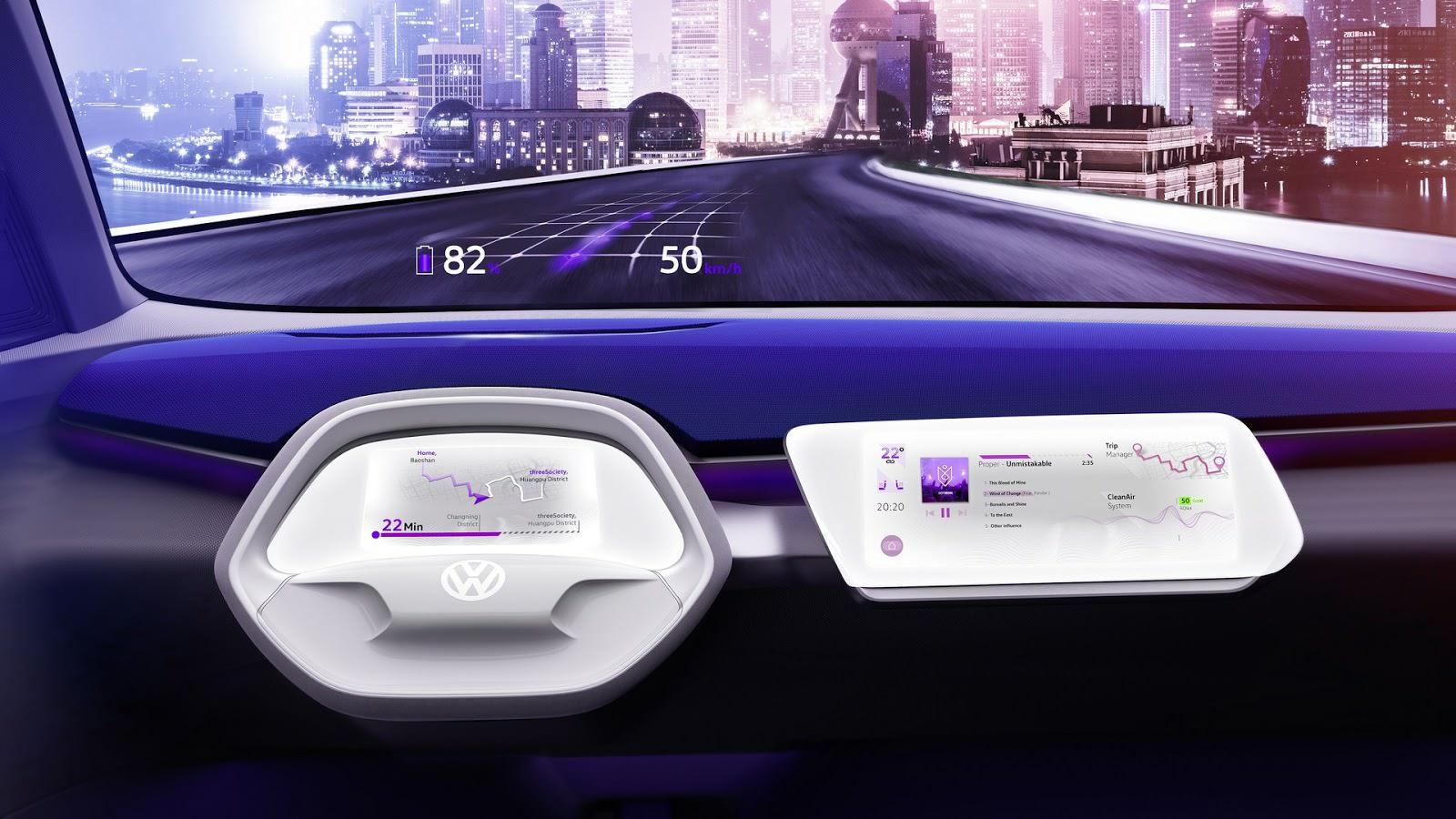 Автопилот Volkswagen I.D. Crozz Concept
