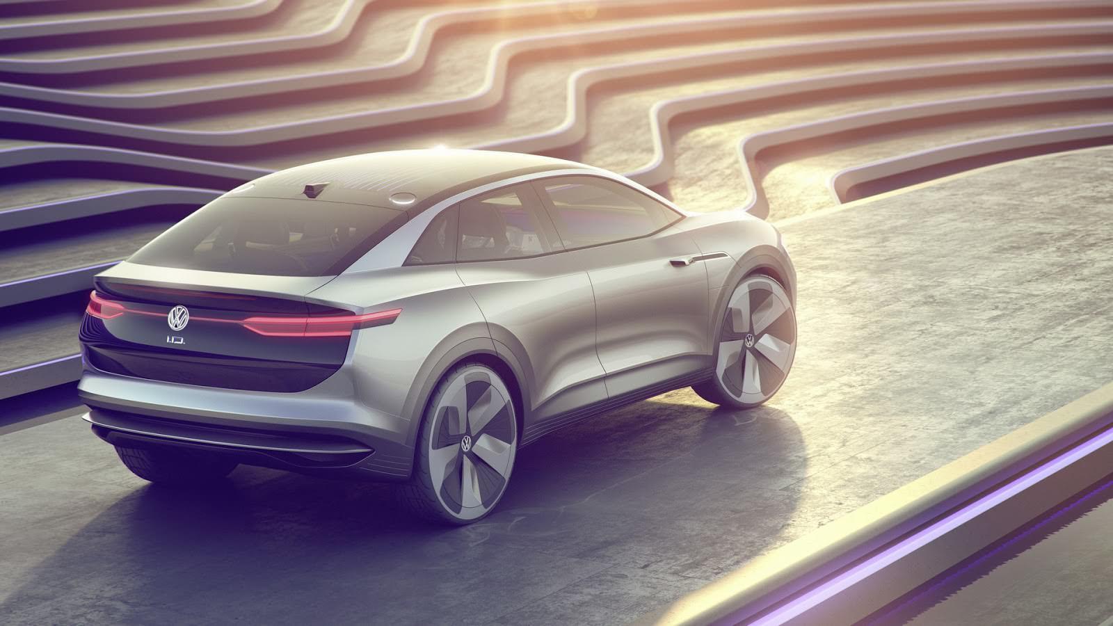 Кроссовер Volkswagen I.D. Crozz. Концепт 2017 года