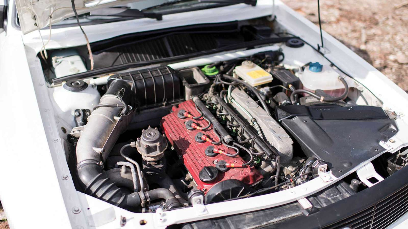 Фото двигателя Audi Sport Quattro 1984 года выпуска