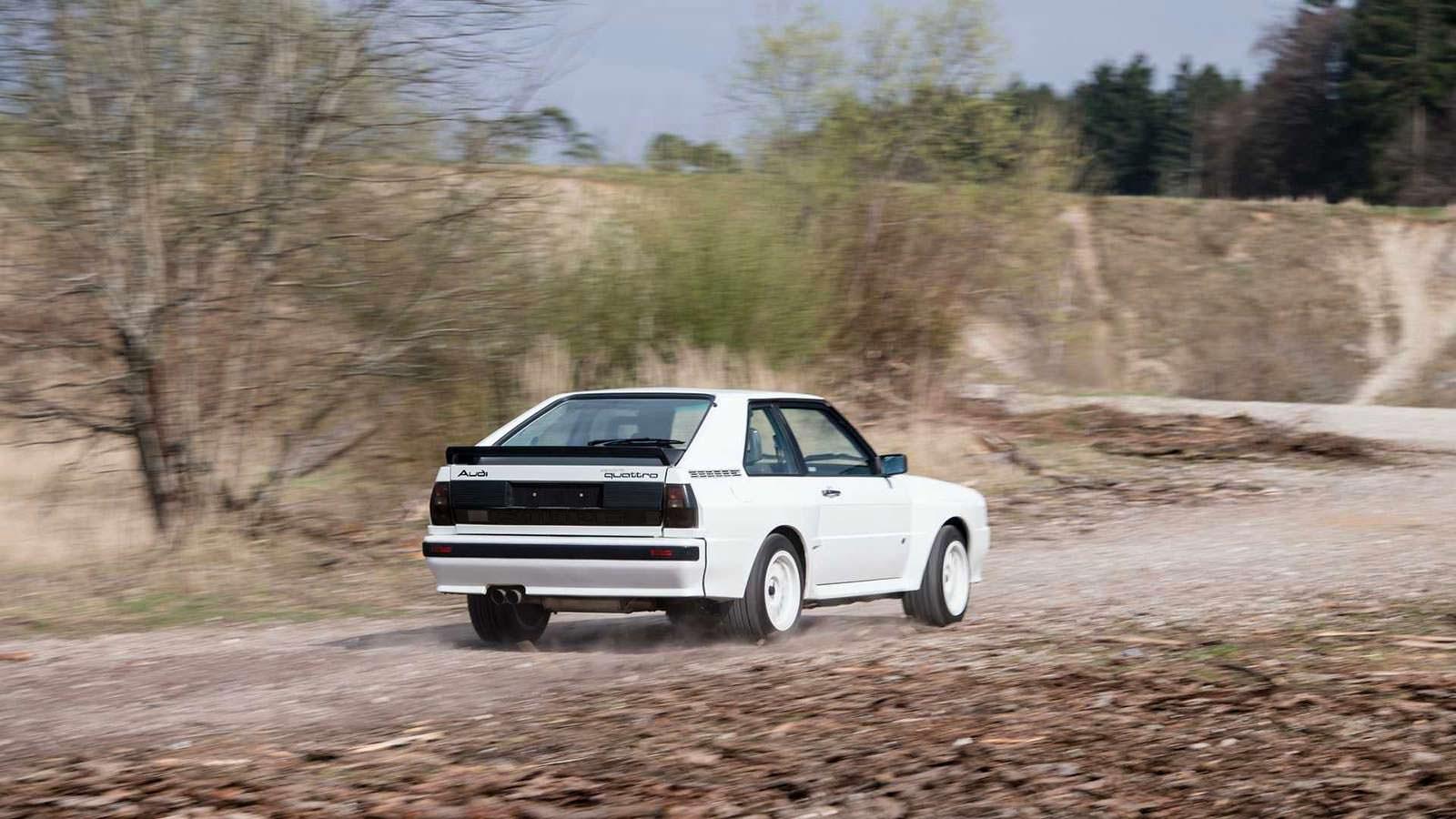 Фото | Audi Sport Quattro с пробегом 90 500 км.