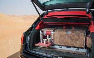 Bentley Bentayga с соколиными аксессуарами от Mulliner