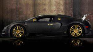 Тюнинг Bugatti Veyron Mansory Linea Vincero: карбон и золото