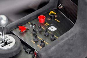 Кнопки управления Lamborghini Diablo GTR