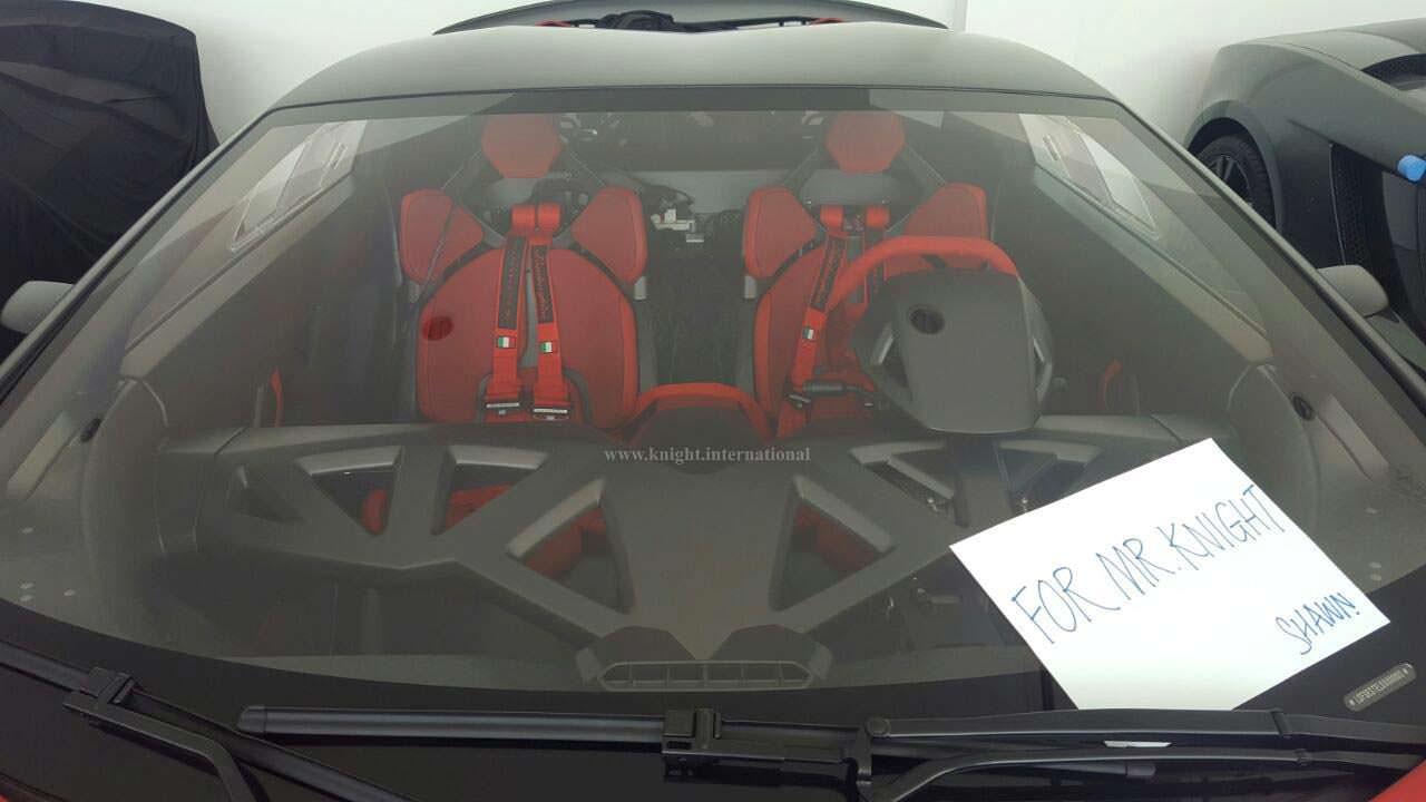 Карбоновый салон Lamborghini Sesto Elemento 2014 года