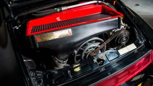 3,3-литровый двигатель Porsche 911 Turbo S Leichtbau