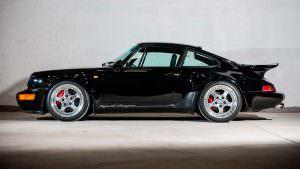 Porsche 911 Turbo S Leichtbau 1993 года выпуска