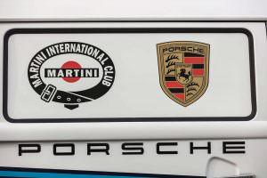Раскраска кузова Volkswagen T2 Transporter Martini Racing
