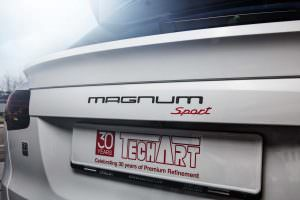 Новый Porsche Cayenne Magnum Sport
