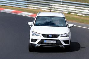 Дорожные испытания SEAT Ateca Cupra в Нюрбургринге