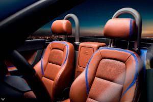 Кожаные сиденья Audi TT Roadster 1998 года