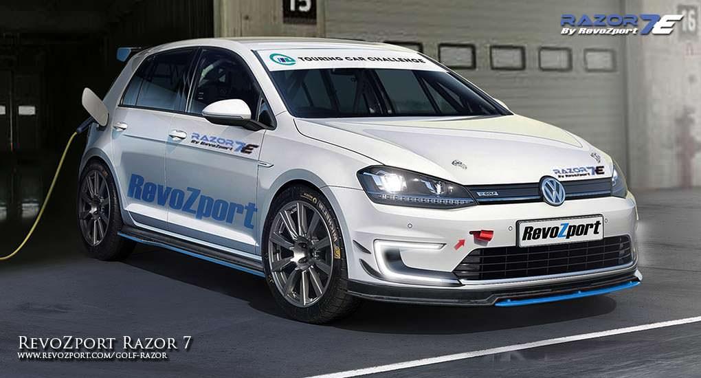 Тюнинг Volkswagen e-Golf VII Razor 7E от RevoZport